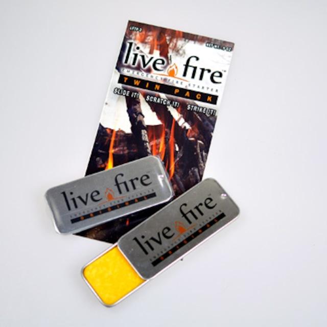 Bush Craft Inc ブッシュクラフト Live Fire Gear ライブファイヤー(Live Fire) スポーツ デュオ  火おこし 自然派 キャンプ アウトドア サバイバル 06-03-liti-0002