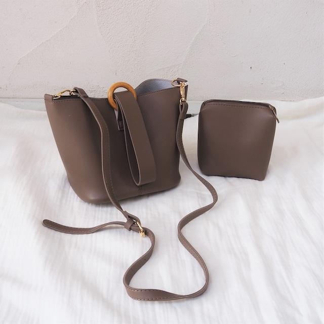 2way bag《D/BRN》19380672