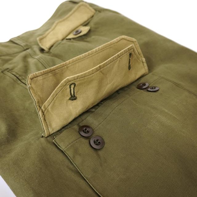 【MADE IN FRANCE】【DEADSTOCK】フランス軍 M47パンツ 前期 / 15サイズ 個体A