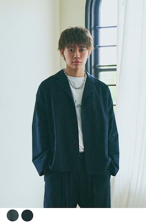 【Boka nii Loo】ドロップショルダービッグジャケット