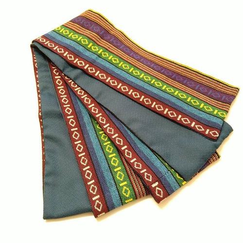 ★ 半巾帯 メキシカン ターコイズ ハンドメイド ★ c081e