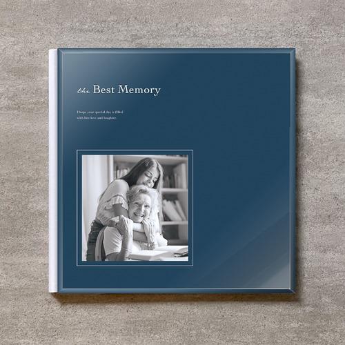 Navy blue-FAMILY_A4スクエア_10ページ/20カット_クラシックアルバム(アクリルカバー)