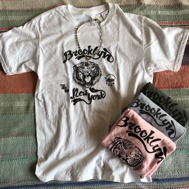 TOPANGA Lady's Brooklyn Tiger Tシャツ ホワイト
