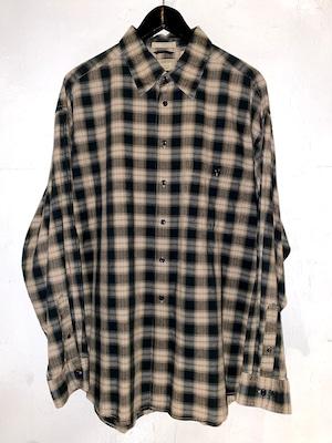 ARROW オンブレーチェック ロングスリーブシャツ