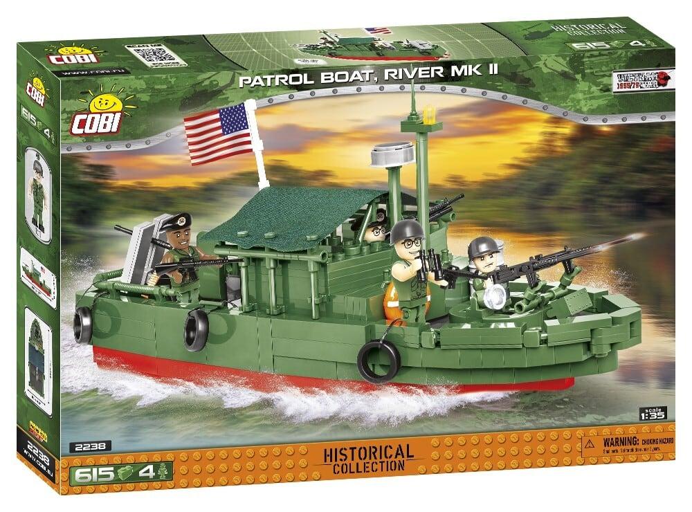 COBI #2238 PBR MK II 河川哨戒艇