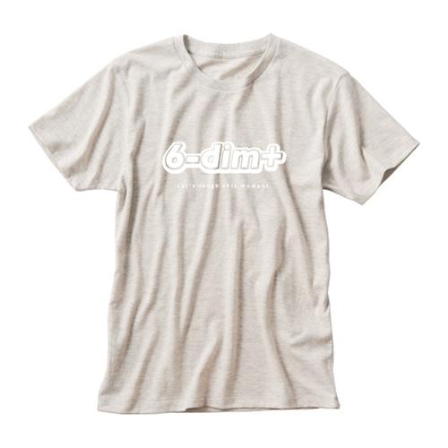 ロゴTシャツ・アルファベット 生成り