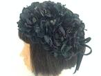 ゴスロリロリィタのヘッドドレス花✳︎着物浴衣髪飾り