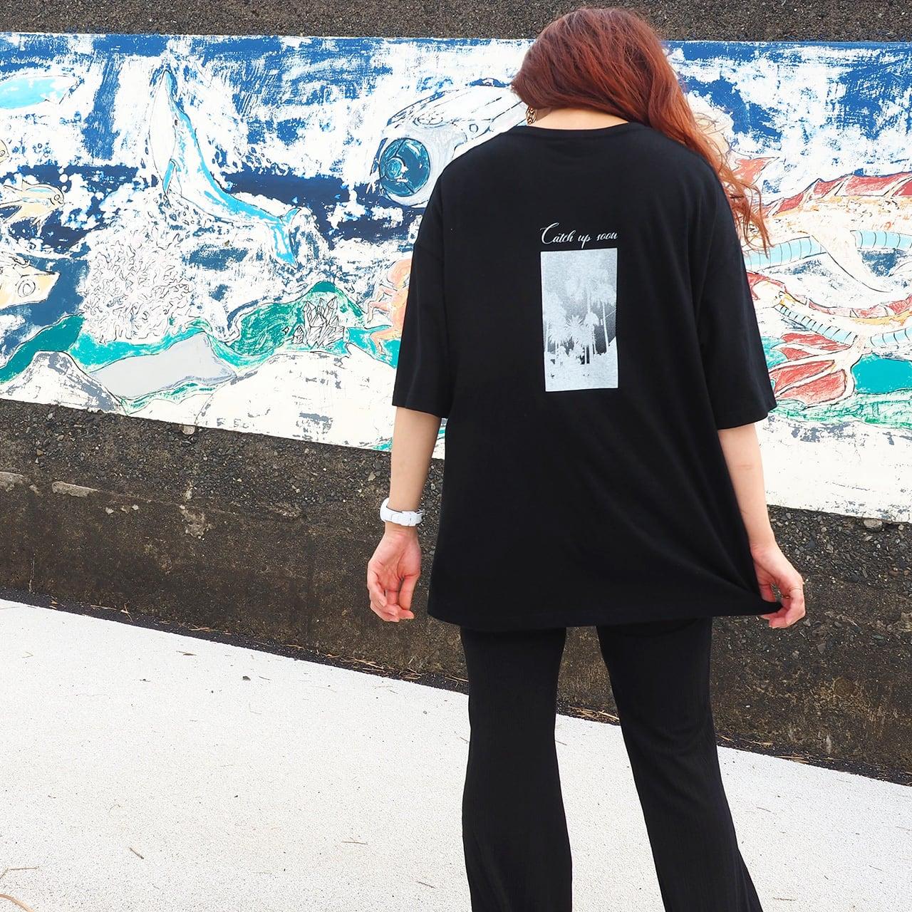 WillxWill Catch up soon T-shirts Black