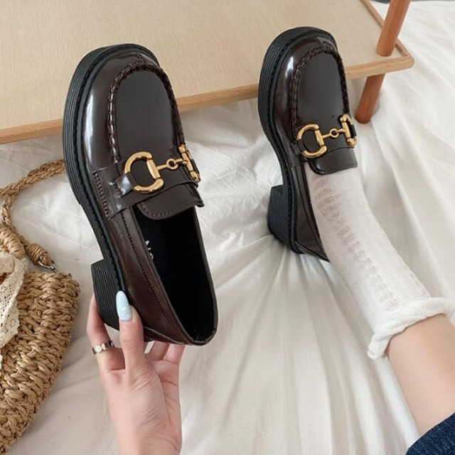 ダイヤ靴 パンプス シューズ ローヒール SHS582701