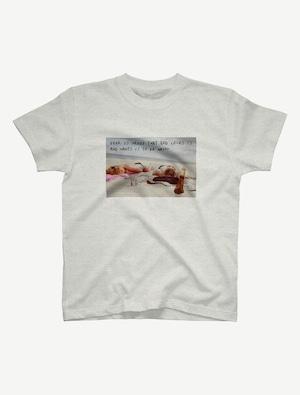 【悩み無用の開放ビーチ】Tシャツ(オートミール)