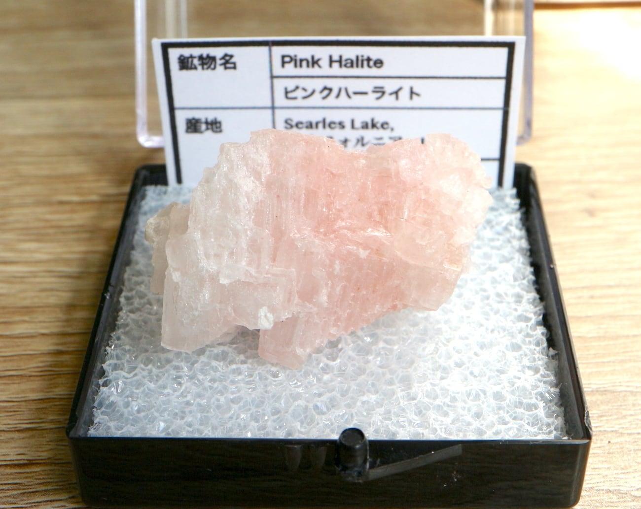 ピンクハーライト カリフォルニア産 ケース入りM#2 岩塩 PH071 鉱物 天然石 浄化 パワーストーン