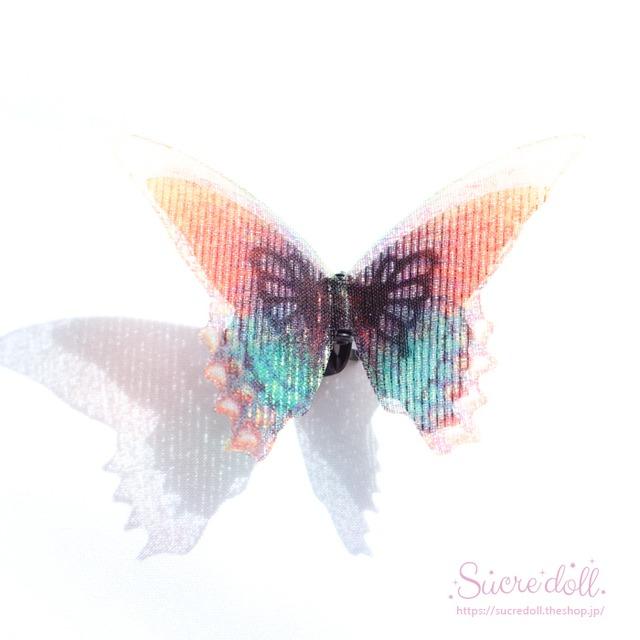 [蜃気楼] 胡蝶の夢 ヘアクリップ