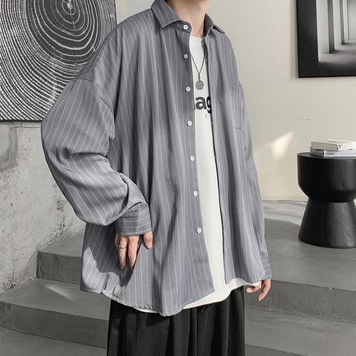 ストライプルーズシャツ BL7839