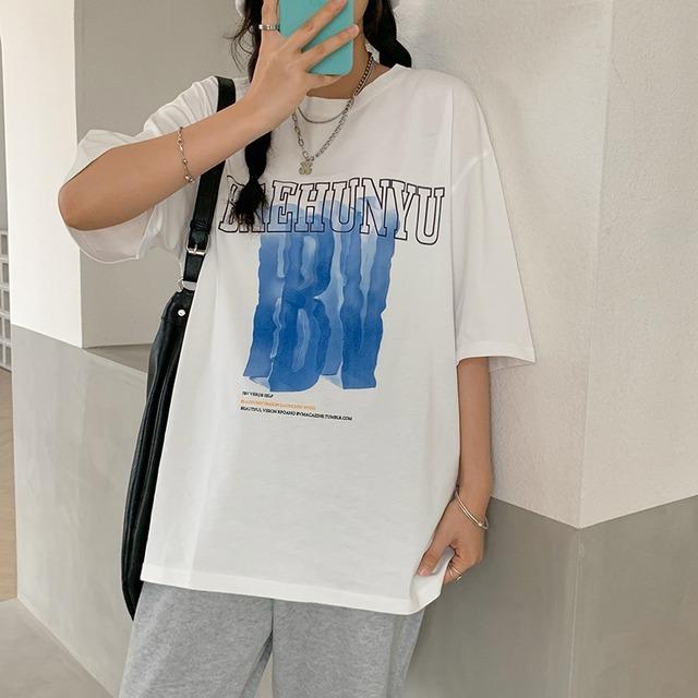 シックプリントTシャツ YH1140