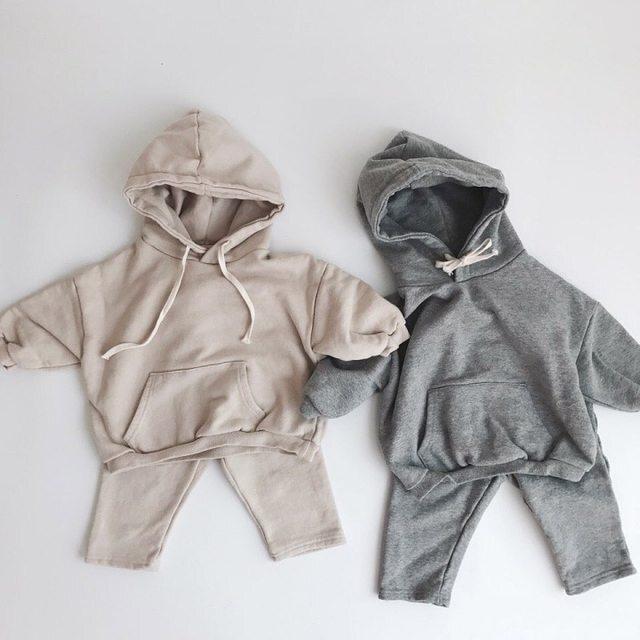 【お取り寄せ】73-100 シンプルセットアップ スウェット トレーナー 赤ちゃん ベビー キッズ