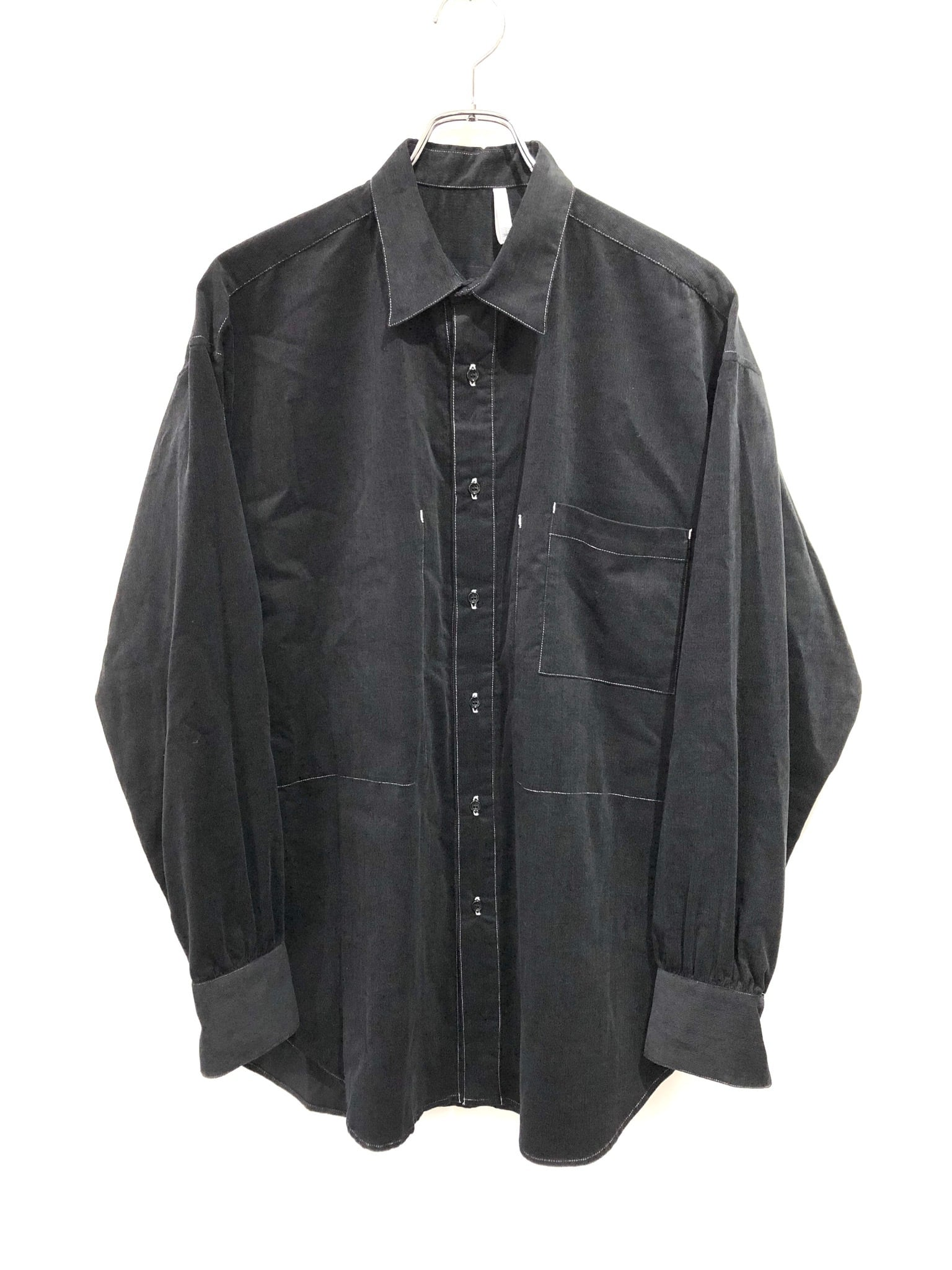 50%OFF【HUMIS】DEFORMATION COVERALL SHIRT