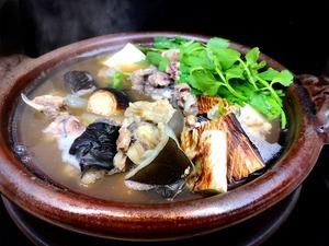 ❆濃厚なスープもたっぷりと!!「国産すっぽん鍋セット」3~4人前 ※スープ、野菜付き