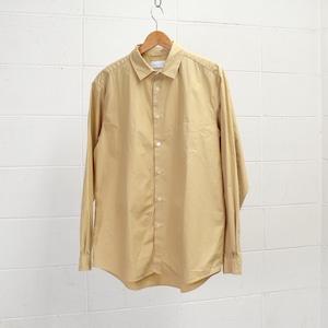 【Manual Alphabet】 LOOSE FIT REGULAR COLLAR SHIRT (3色) マニュアルアルファベット レギュラーシャツ  日本製 MADE IN JAPAN