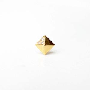 Studs Pierced Earring / Single(E254-YD )