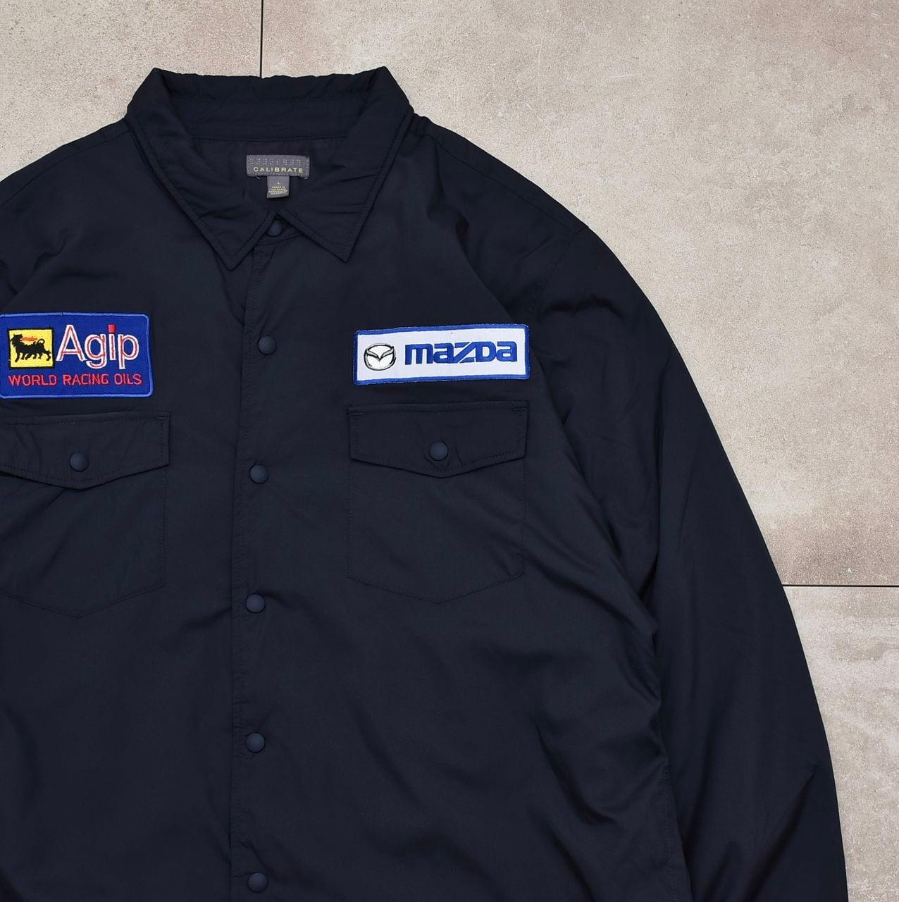 CALIBRATE insulation nylon work shirt jacket