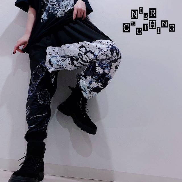 STYLISH SARROUEL PANTS【CRASH】