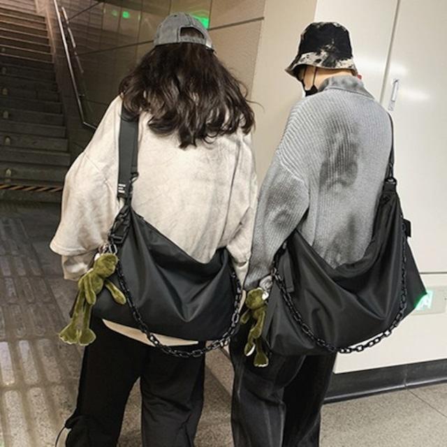 【小物】チェーンつきシンプルファッション運動ストリート系バッグ45962766