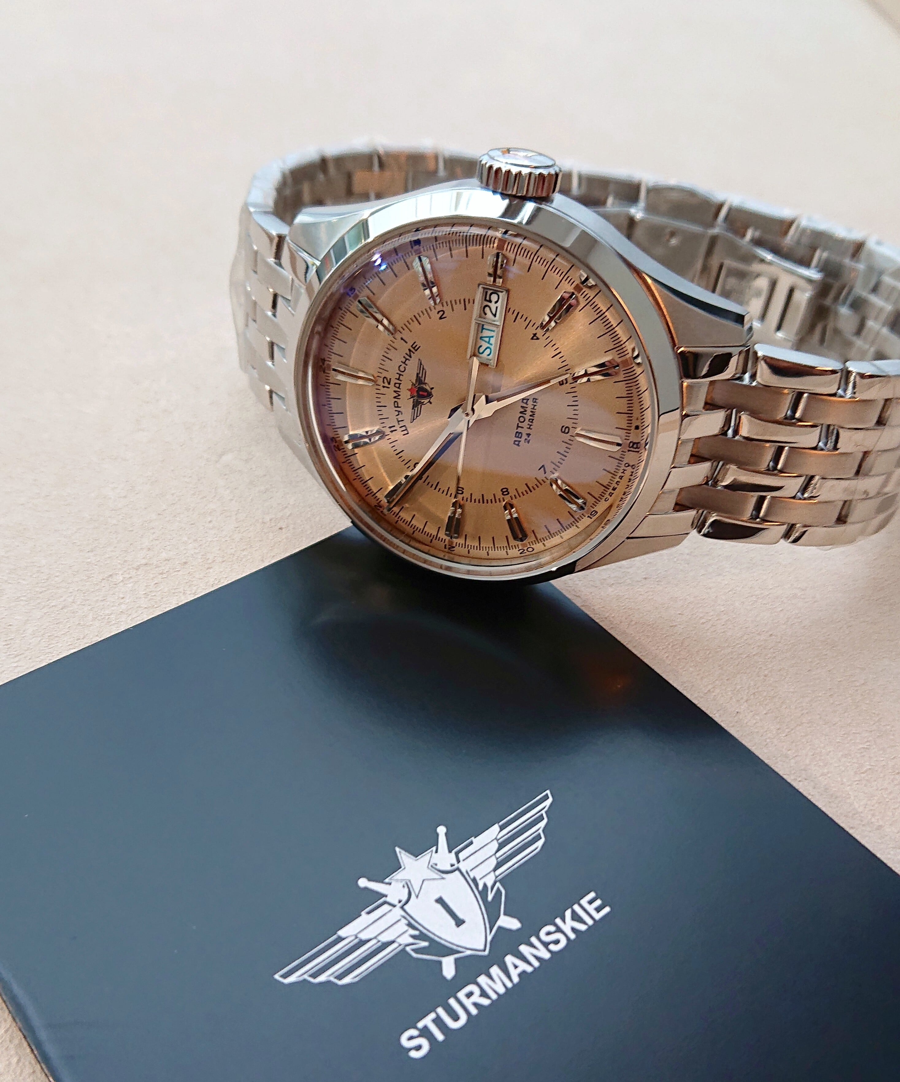 【STURMANSKIE シュトゥルマンスキー】OPEN SPACE/オープンスペース(ブレスレット)/国内正規品 腕時計