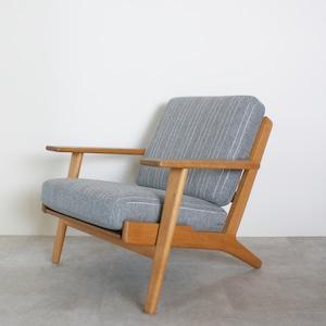 GE290 Easy chair by Hans J Wegner / CH029  ** before repair **