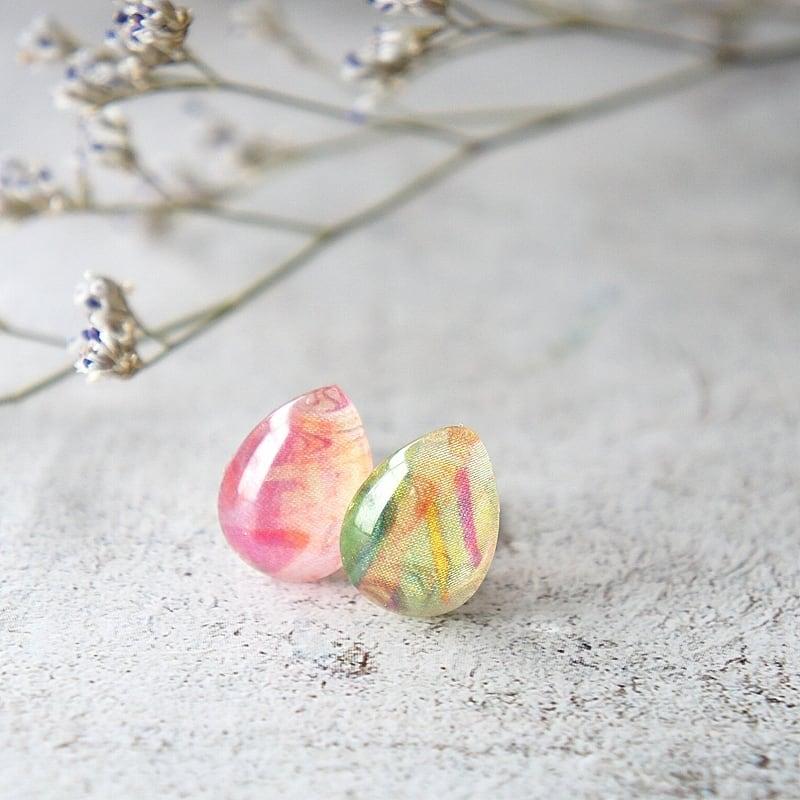 """ Earrings NO.0-1840″ リバティ一粒"