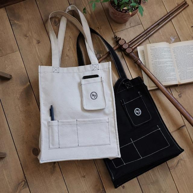 [a.poel]  Stictch pocket bag(全2色)