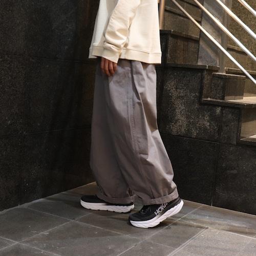 【HARVESTY】CHINO CIRCUS PANTS (GRAY) (UNISEX) サーカスパンツ ハーベスティ ユニセックス 日本製