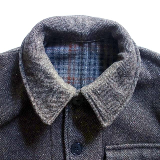 【MADE IN FRANCE】PASCAL ウールワークウェアジャケット