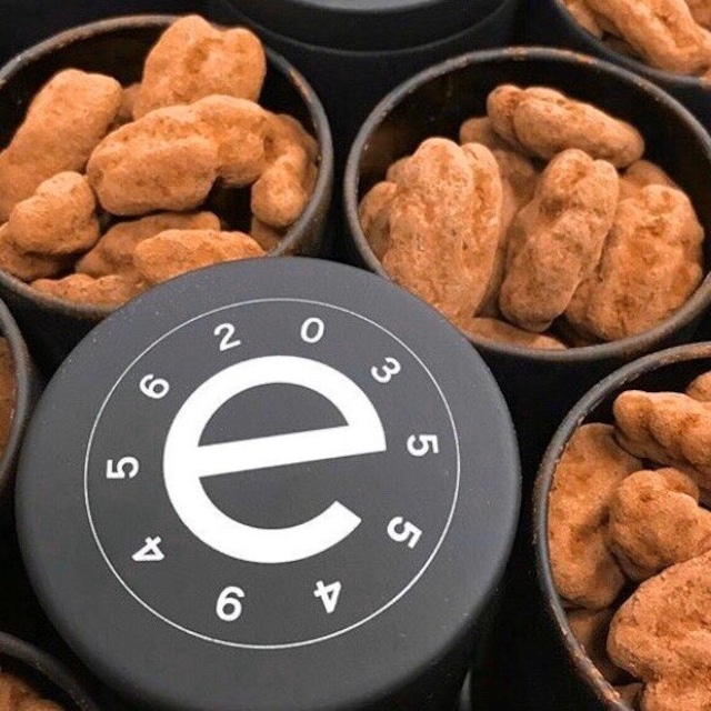 【クール便配送】世界一美味しいと称される オリジナルピーカンナッツショコラ 50g黒缶入 5個セット