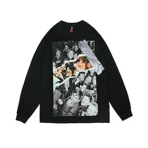 【SELECT】フォトプリントロングスリーブTシャツ