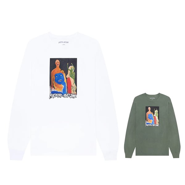 Fucking Awesome Dill Collage II L/S