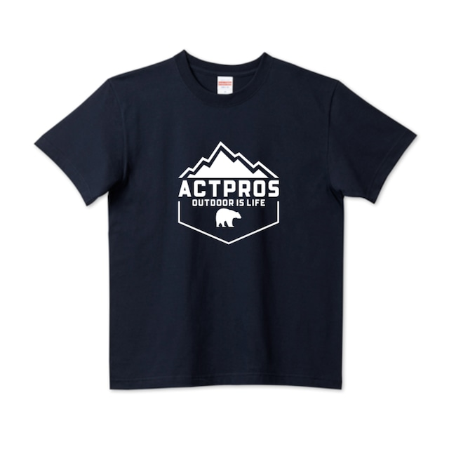 ACTPROS OUTDOOR IS LIFE 5.6ハイクオリティーTシャツ(United Athle)