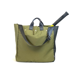 Oxford/Racket tote/Large/Fatigue