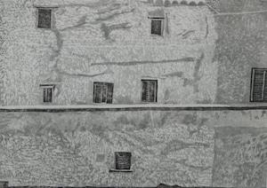 城壁の家・280×400mm