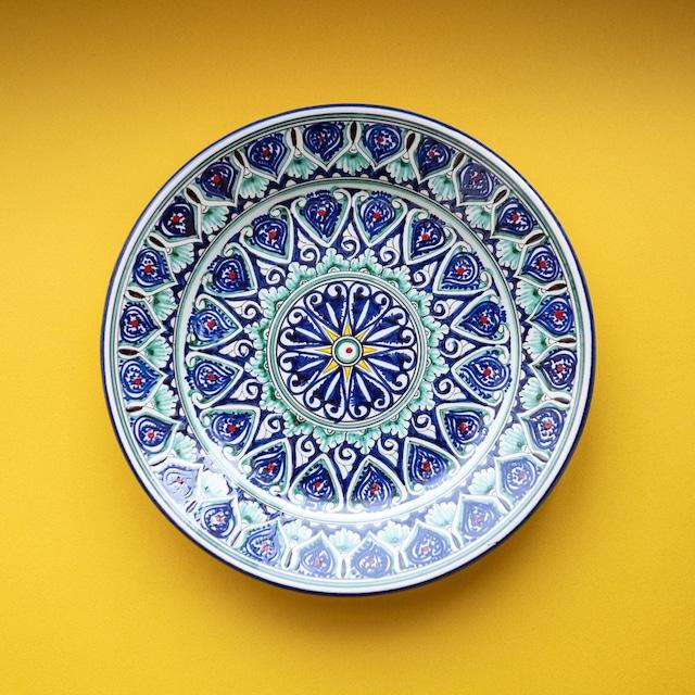 ウズベキスタンの大皿②