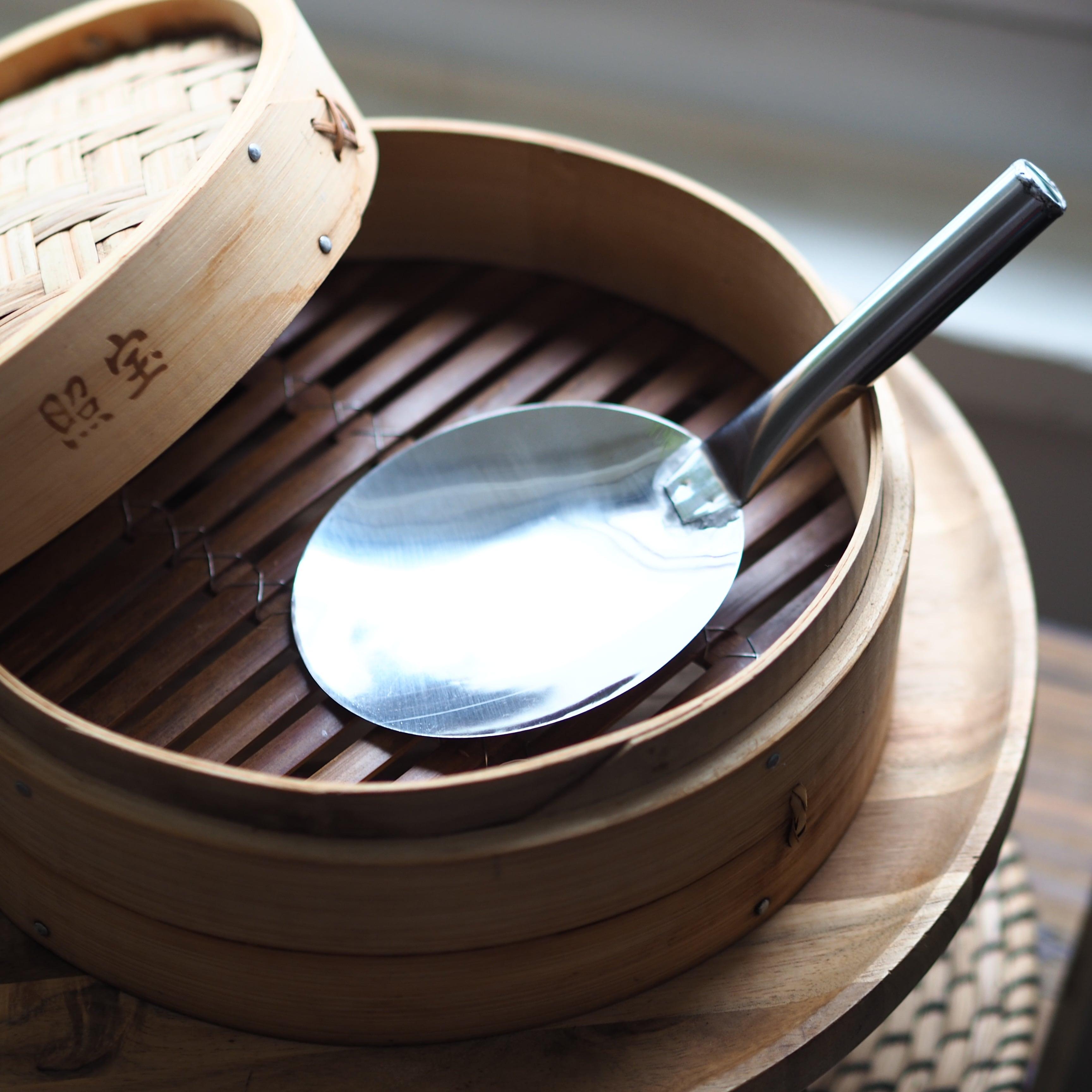 香港/陳枝記老刀荘『ステンレス調理スプーン』