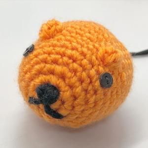 カピバラ オレンジ  チョークボール cb-508