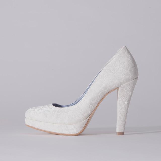 Lace / Close Toe / 12cm / WH 【1122 WH】