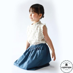 «sold out»«pourenfant» laura blouse 2colors ローラブラウス