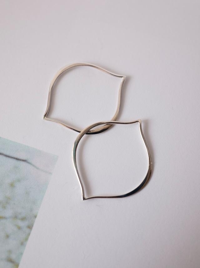 Arabesque Link Parts 25mm / Silver - 021
