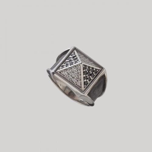 Big Studs Ring Silver