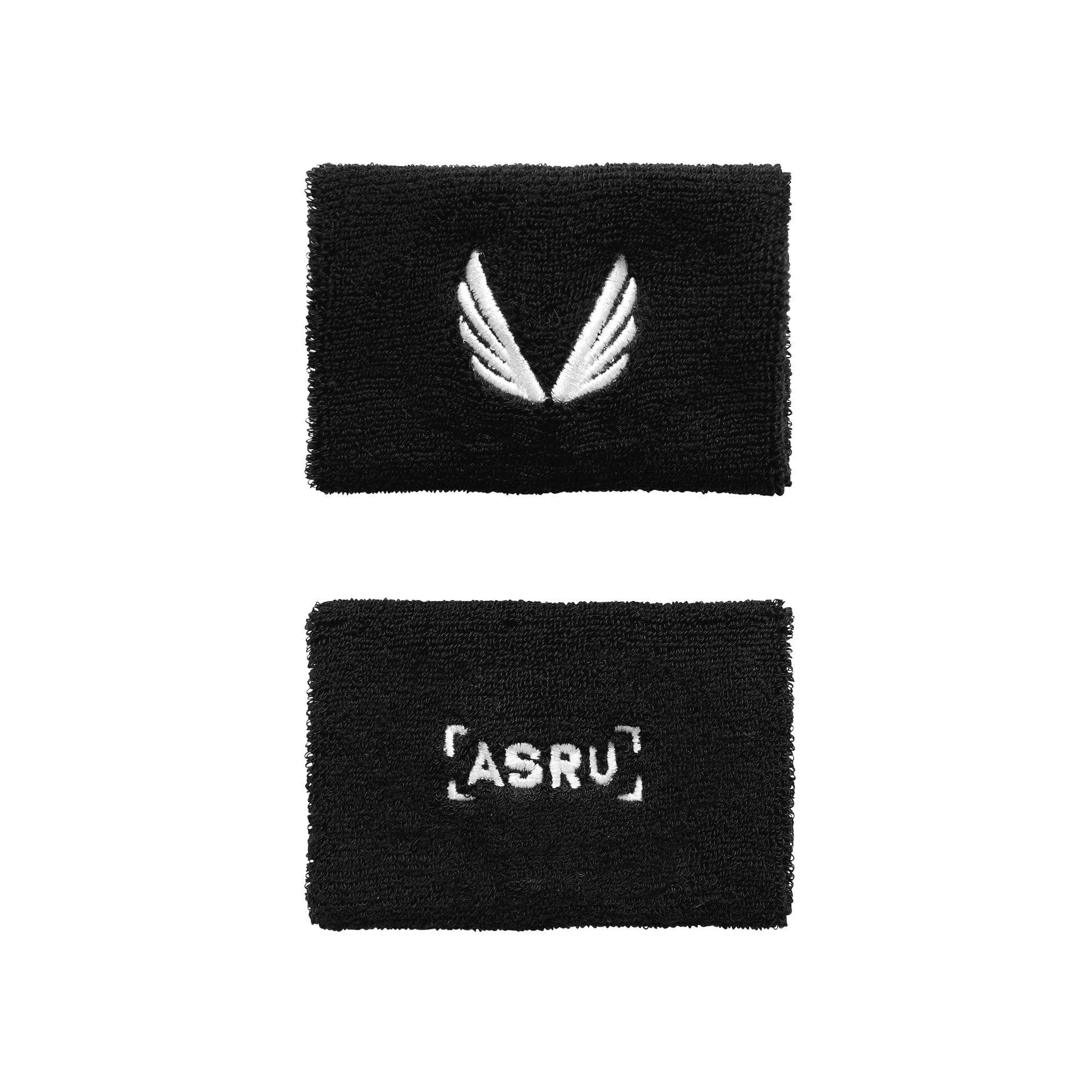 【ASRV】パフォーマンスリストバンド - Black
