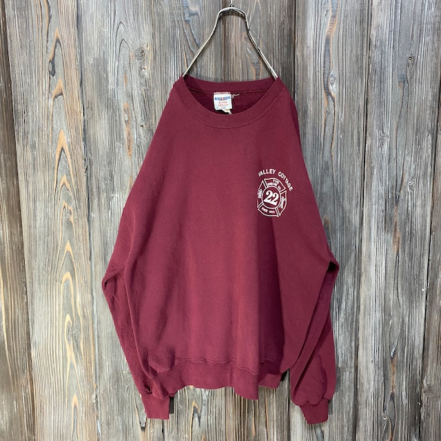 [used]volley cottage Bordeaux sweat