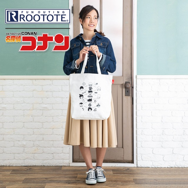 【 ROOTOTE ┃ アイコンモノグラム】コラボトートバッグ 第1弾
