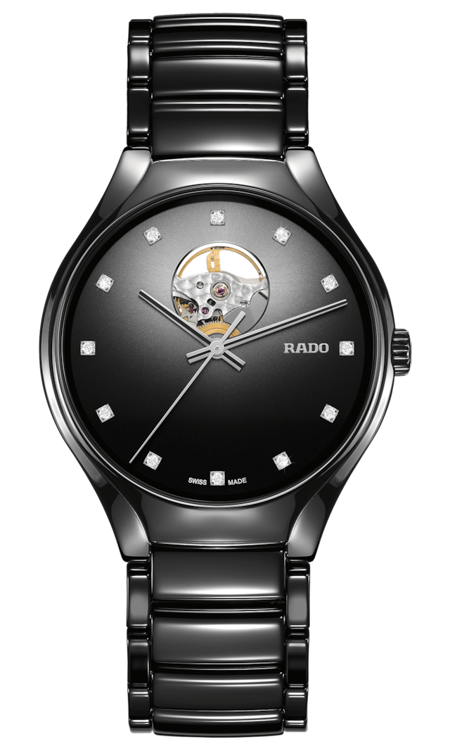【RADO ラドー】True Secret Diamondsトゥルーシークレットダイヤモンズ(ブラック)/国内正規品 腕時計
