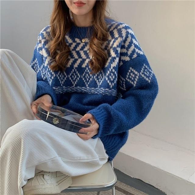 Pattern knit KRE1091